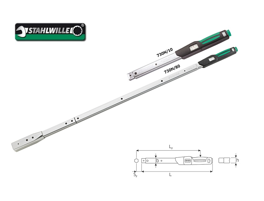 Stahlwille 730N.Momentsleutel MANOSKOP | DKMTools - DKM Tools