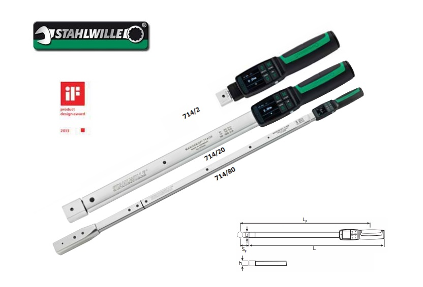 Stahlwille 714.Digitale momentsleutel MANOSKOP | DKMTools - DKM Tools