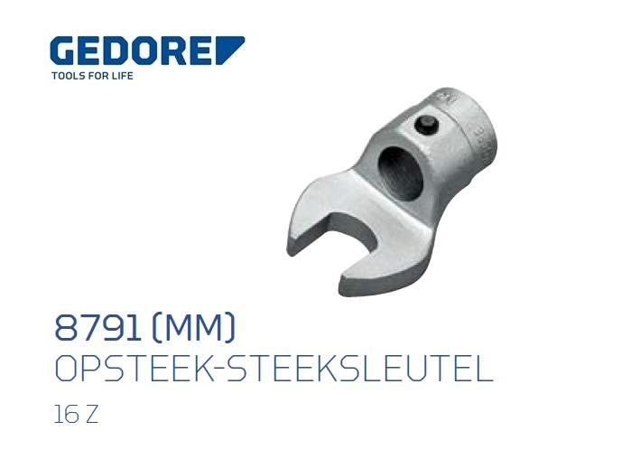 Gedore 8791.Opsteek steeksleutel 16Z | DKMTools - DKM Tools
