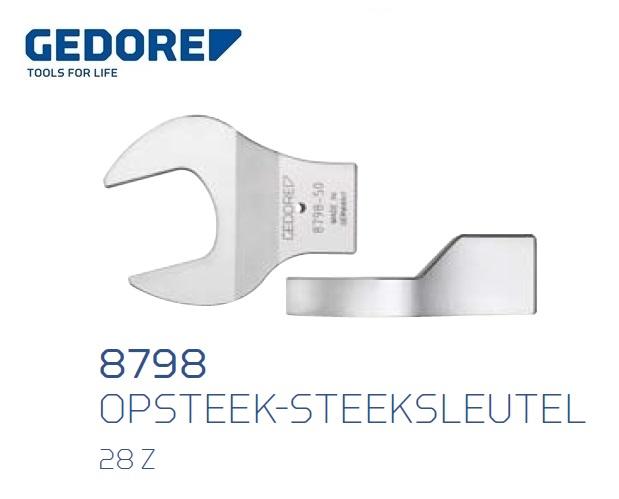 Gedore 8798.Opsteek steeksleutel 28 Z | DKMTools - DKM Tools