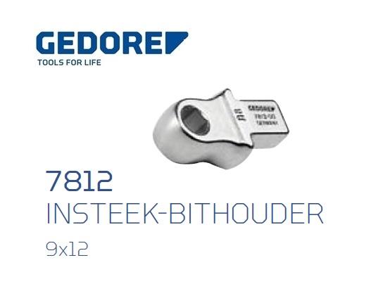 Gedore 7812.Insteek bithouder SE 9x12 | DKMTools - DKM Tools