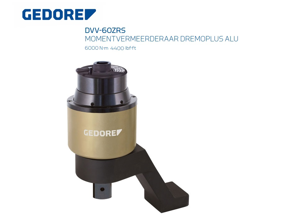 Gedore DVV-60ZRS momentvermeerderaar   DKMTools - DKM Tools