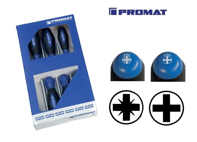 Set schroevendraaiers PH PZD | DKMTools - DKM Tools
