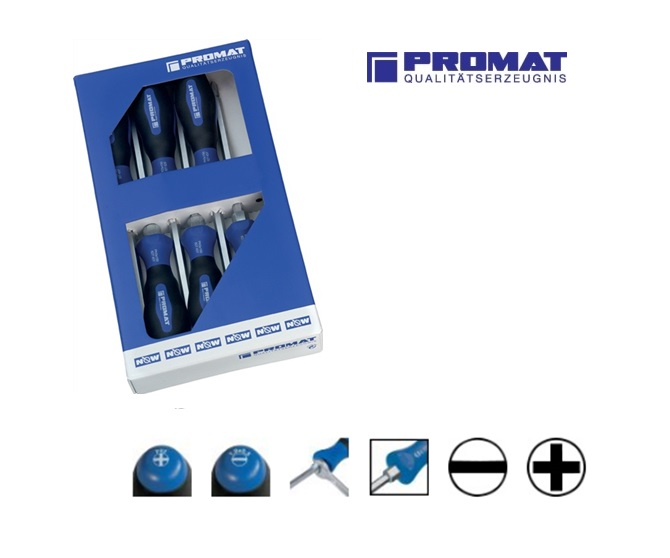 Set schroevendraaiers sleuf -PH | DKMTools - DKM Tools