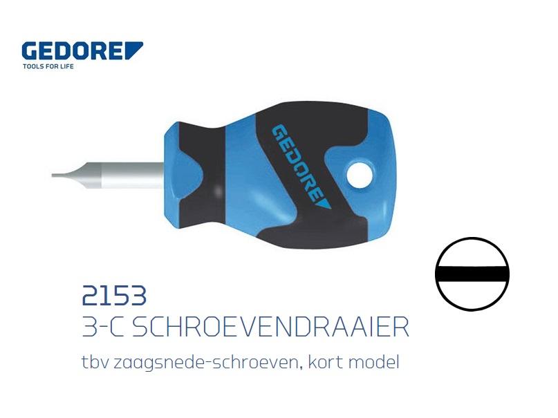 Gedore 2153.kort model Schroevendraaier | DKMTools - DKM Tools