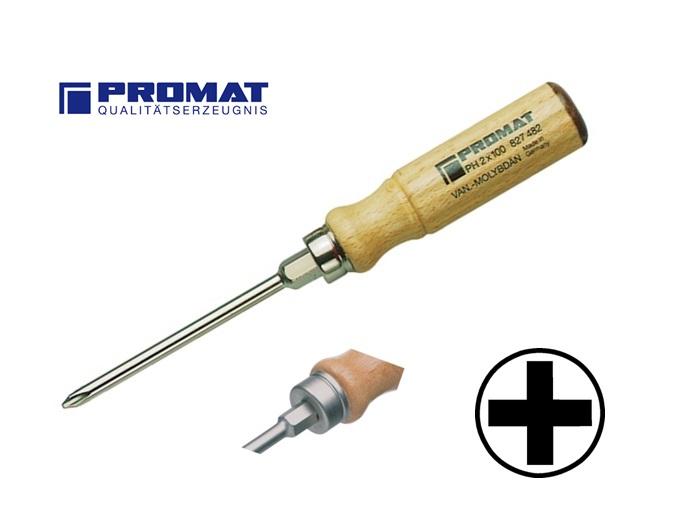 Houten Phillips Schroevendraaier PH | DKMTools - DKM Tools