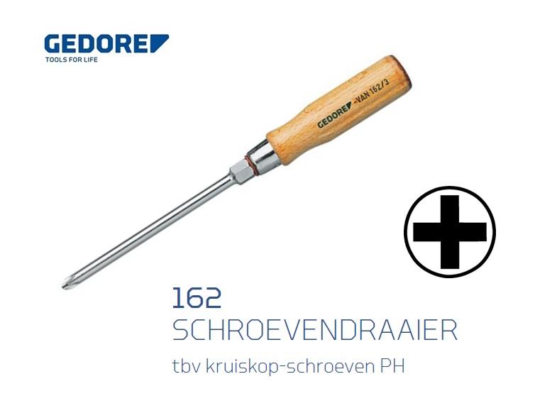 Gedore 162.Houten schroevendraaier Phillips   DKMTools - DKM Tools