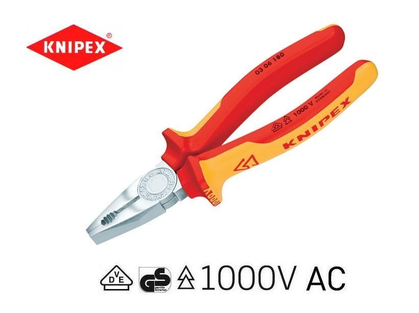 Knipex VDE combinatietang 03 06 | DKMTools - DKM Tools