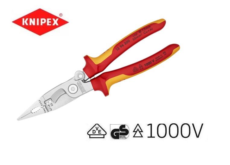 Knipex VDE Elektro installatietangen 13 86 | DKMTools - DKM Tools