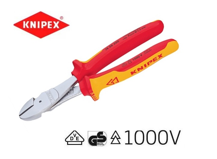 Knipex VDE Krachtzijsnijtang | DKMTools - DKM Tools