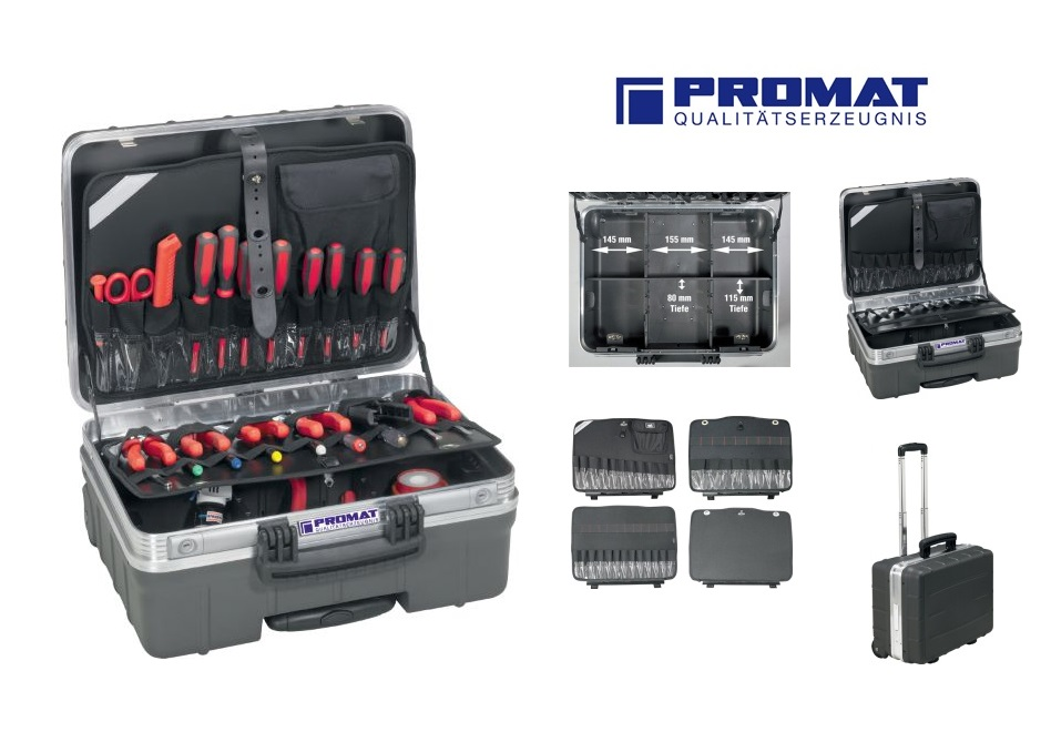 Hardkunststof koffer verrolbaar | DKMTools - DKM Tools