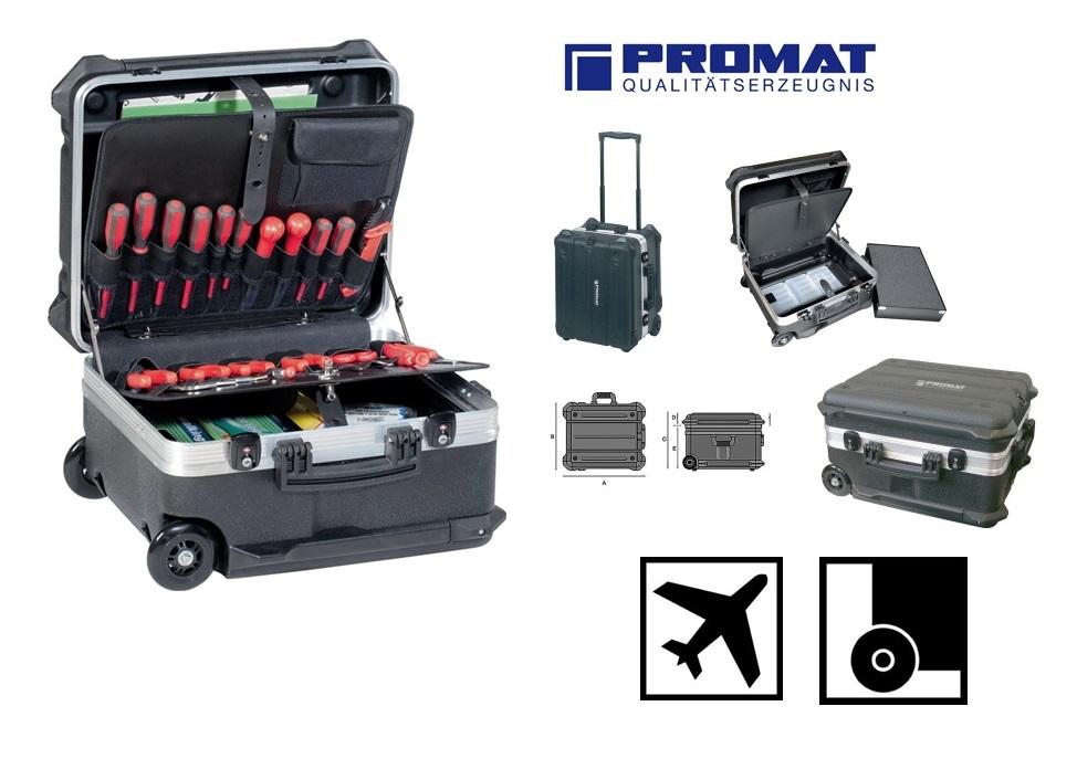 Verrijdbare hardkunststof koffer | DKMTools - DKM Tools