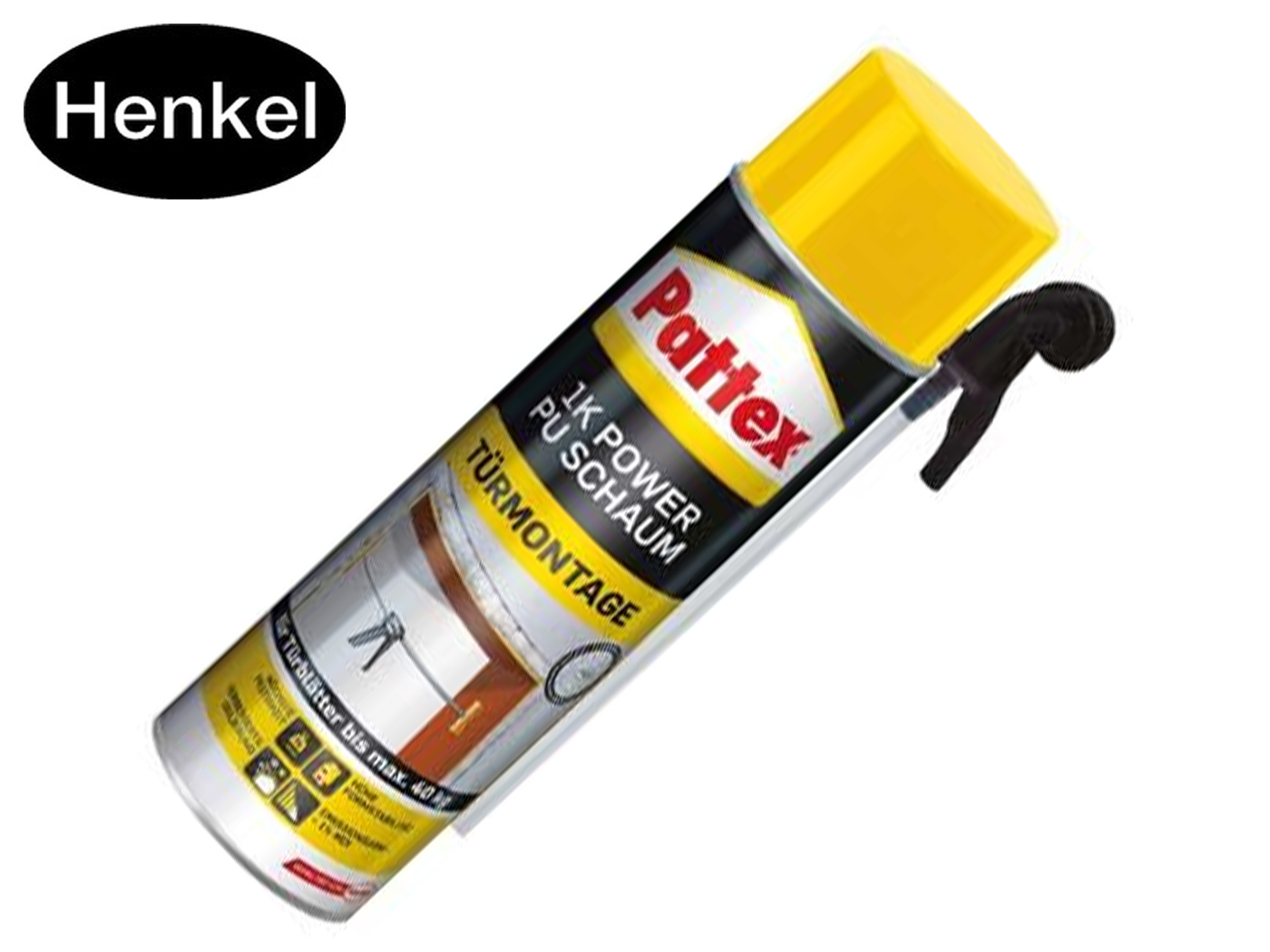 Pattex Power PU schuim deurmontage 500 ml | DKMTools - DKM Tools