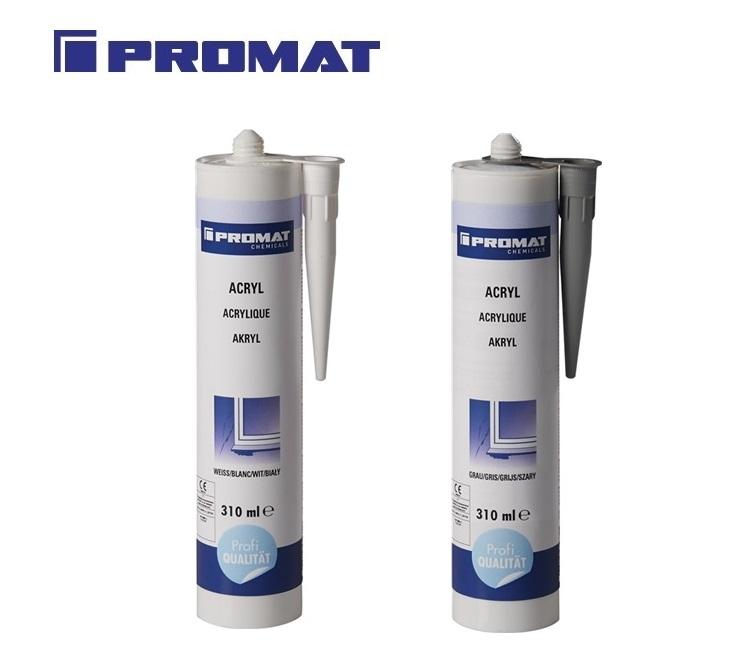 Acrylic 310 ml witte cartridge PROMAT | DKMTools - DKM Tools