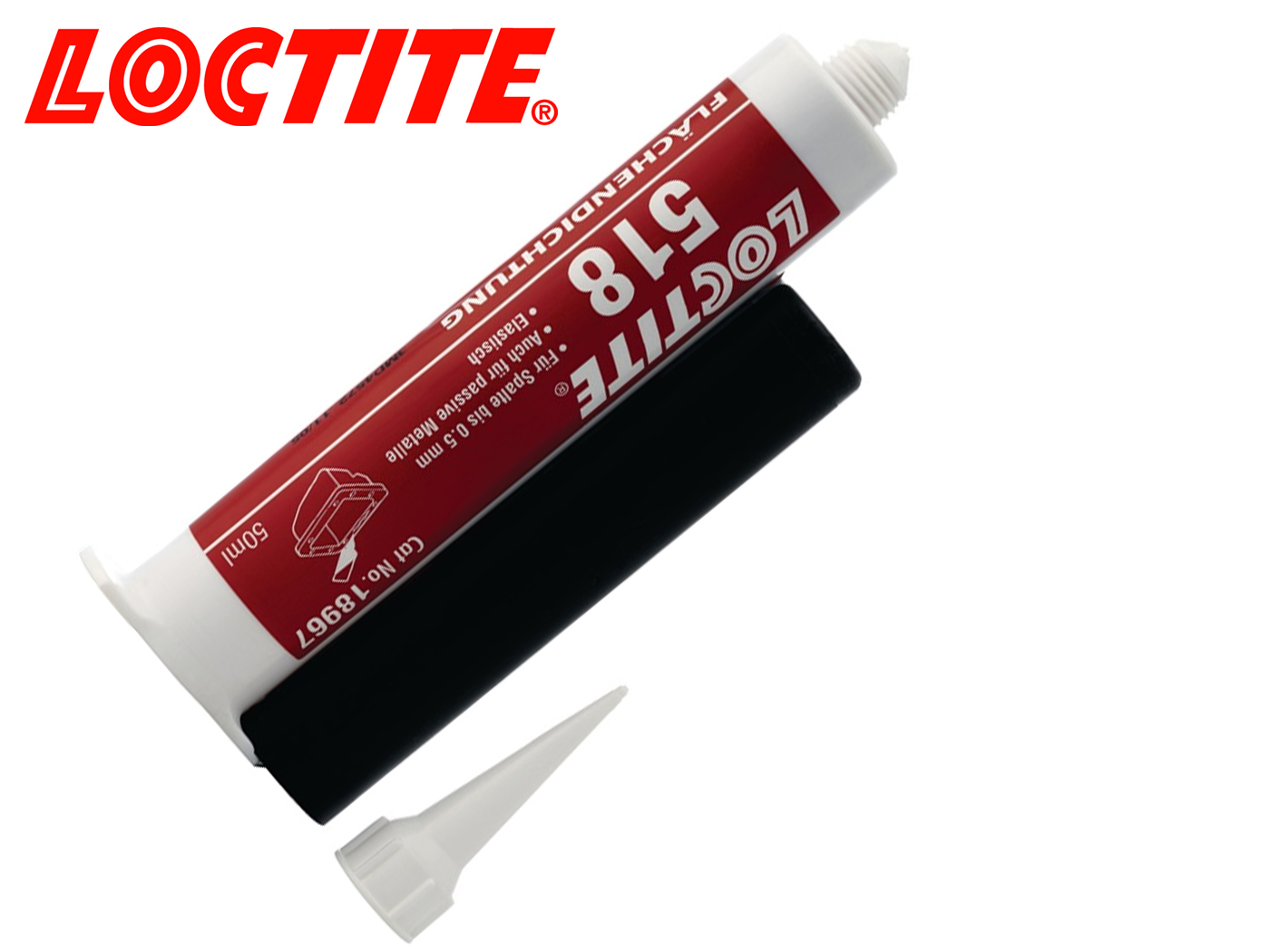 Oppervlakteafdichting 518 rood patroon loctite | DKMTools - DKM Tools