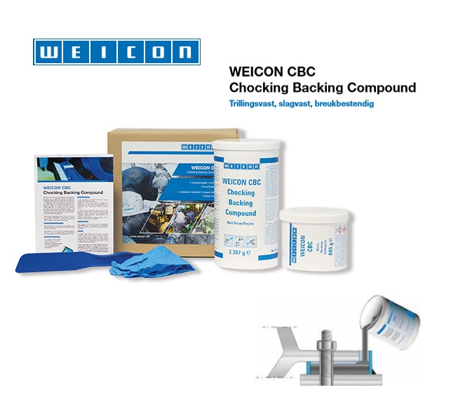 WEICON CBC Chocking Backing Compound   DKMTools - DKM Tools