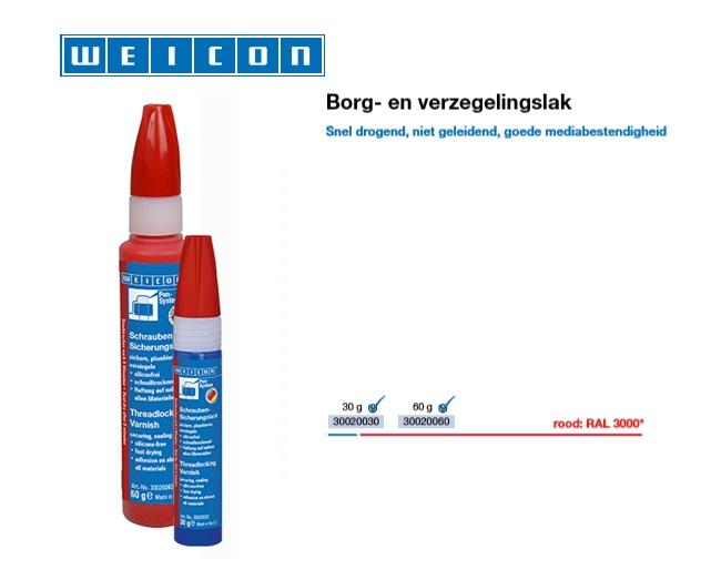 Borg- en verzegelingslak RAL 3000   DKMTools - DKM Tools