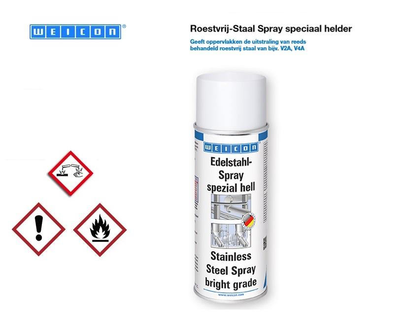 Roestvrij-Staal Spray Helder   DKMTools - DKM Tools