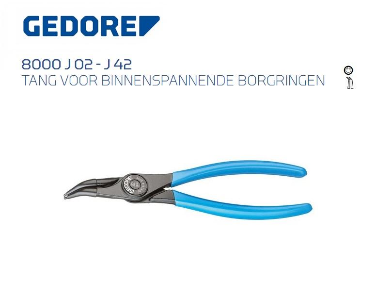 GEDORE Borgveertang voor binnenringen 45 gebogen | DKMTools - DKM Tools