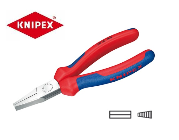 Knipex Platbuigtangen 20 02 | DKMTools - DKM Tools