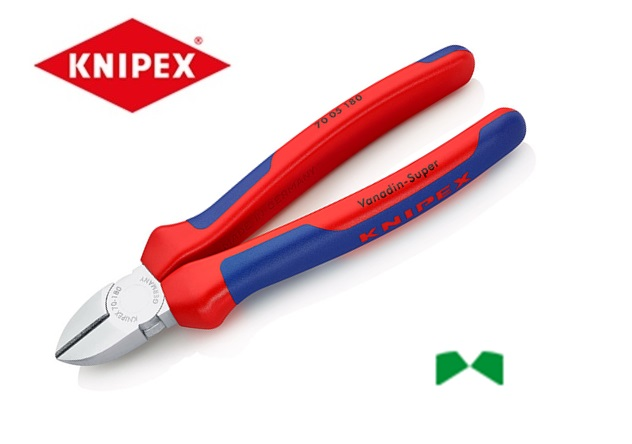 Knipex Zijsnijtang verchroomd 70 05 | DKMTools - DKM Tools