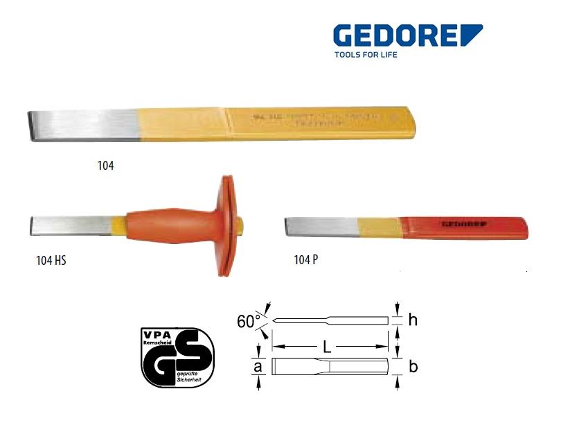 Gedore 104.Sleufbeitel | DKMTools - DKM Tools