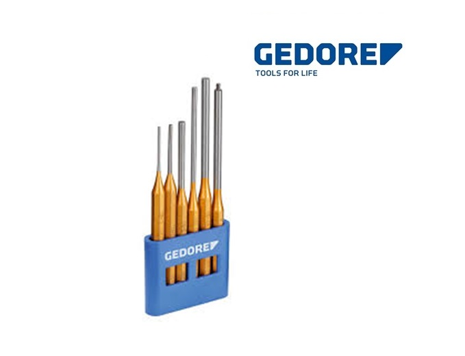 Gedore 116L.Pendrijverset 6 dlg en PVC houder | DKMTools - DKM Tools