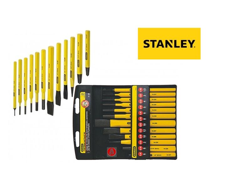 Stanley 4 18 299.Koudbeitel En Drevelset 12Dlg. | DKMTools - DKM Tools