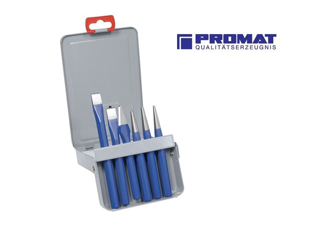 Beitels doorslagen set box Promat | DKMTools - DKM Tools