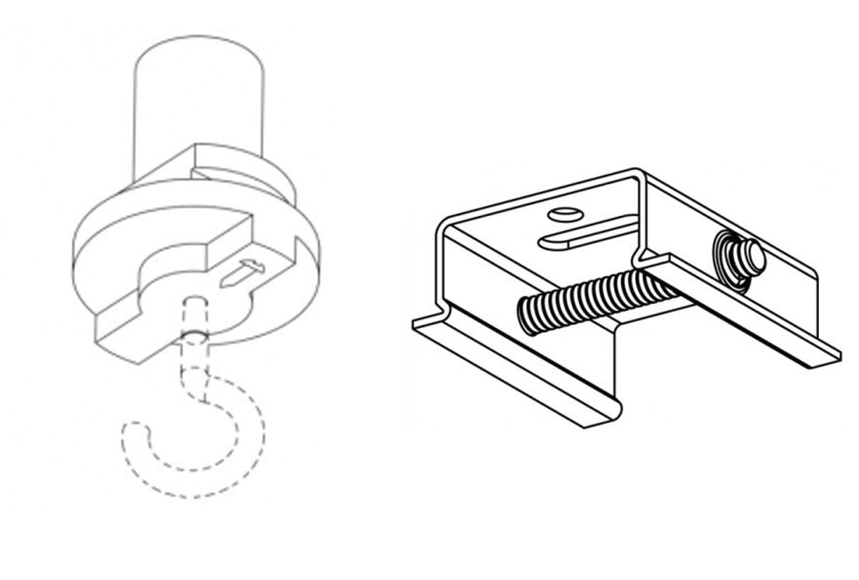 LED toebehoren Haken | DKMTools - DKM Tools