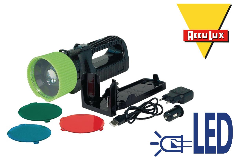 Zaklamp Oplaadbare LED lamp   DKMTools - DKM Tools