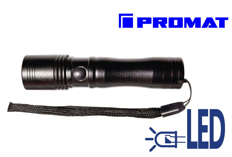 Zaklamp LED Vast licht L.9.8cm, hoofd D.2,1cm | DKMTools - DKM Tools