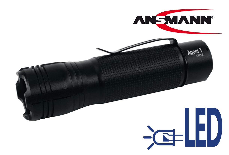 Zaklamp LED Agent witte LED | DKMTools - DKM Tools