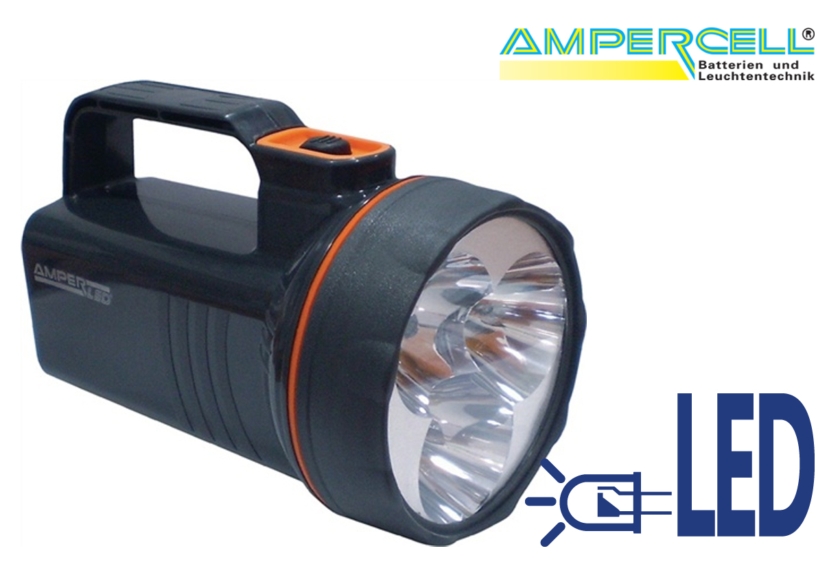 Zaklamp LED handlamp AM 2009 lichtheid tot 150 | DKMTools - DKM Tools