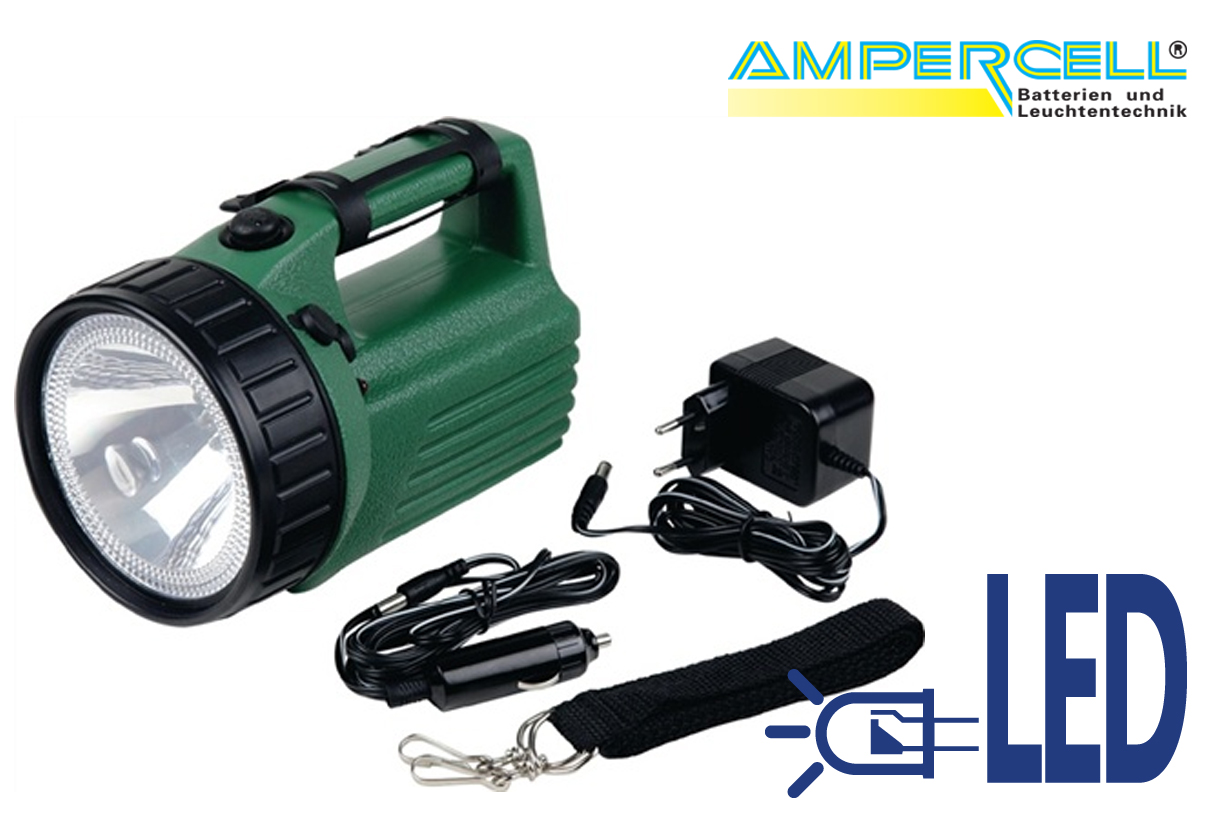Zaklamp Halogeen hand spotlight SCOUT LED   DKMTools - DKM Tools