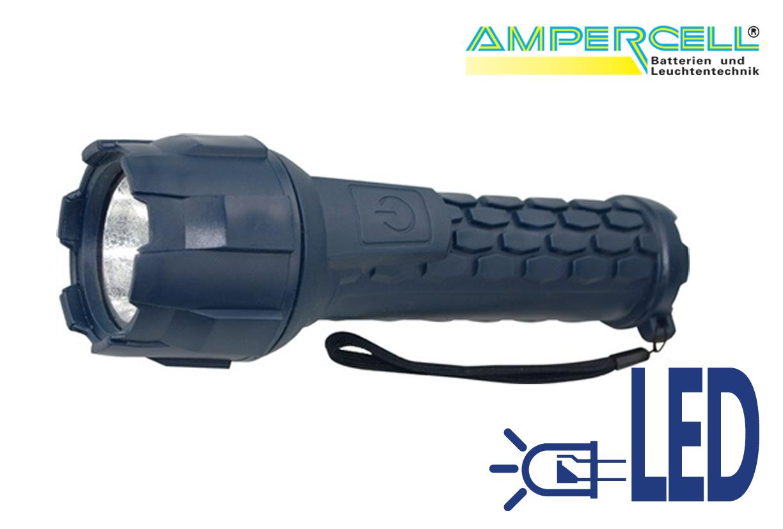 Zaklamp LED rubber lamp Racer 3   DKMTools - DKM Tools