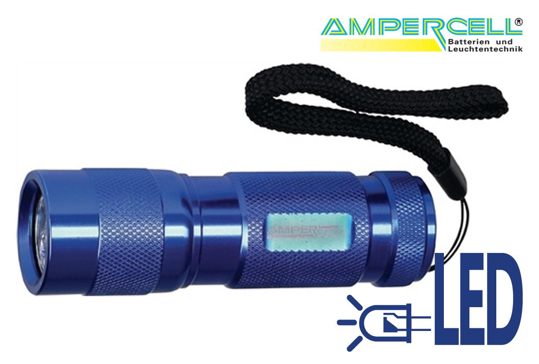 Zaklamp Aluminium Licht Multi LED 9 | DKMTools - DKM Tools