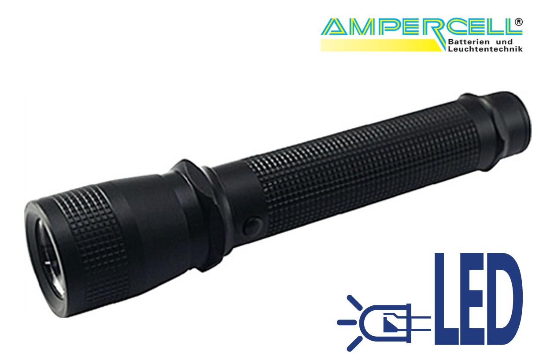 Zaklamp LED oplaadbare 350 lumen | DKMTools - DKM Tools