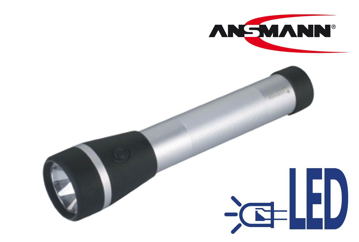 Zaklamp a.Metall f.3Monocelle focussable | DKMTools - DKM Tools