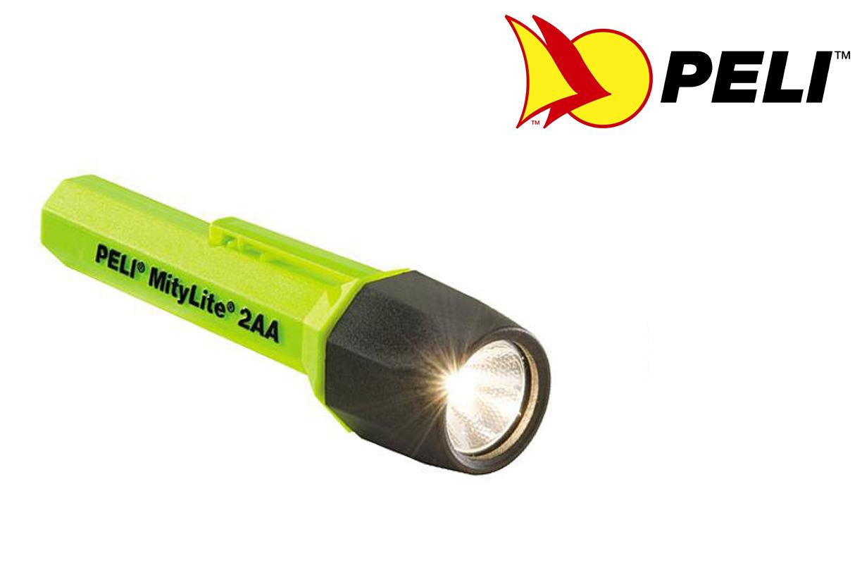 Zaklamp Peli Mitylite 2300 geel Magnum | DKMTools - DKM Tools