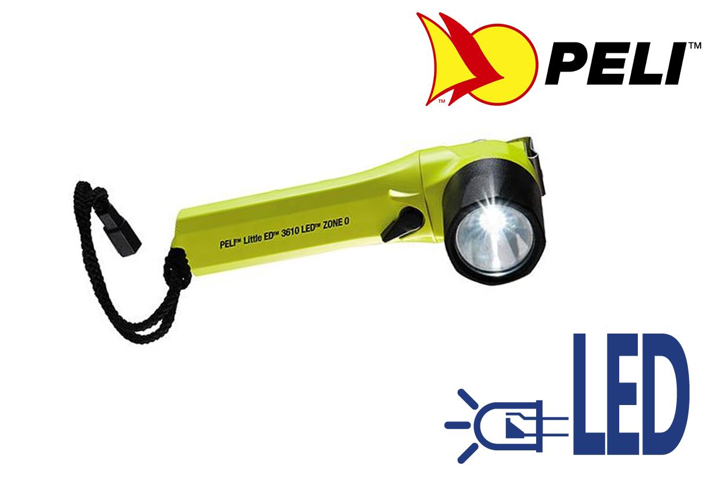 Zaklamp Peli 3610 Z0 (4 AA) LittleEd | DKMTools - DKM Tools