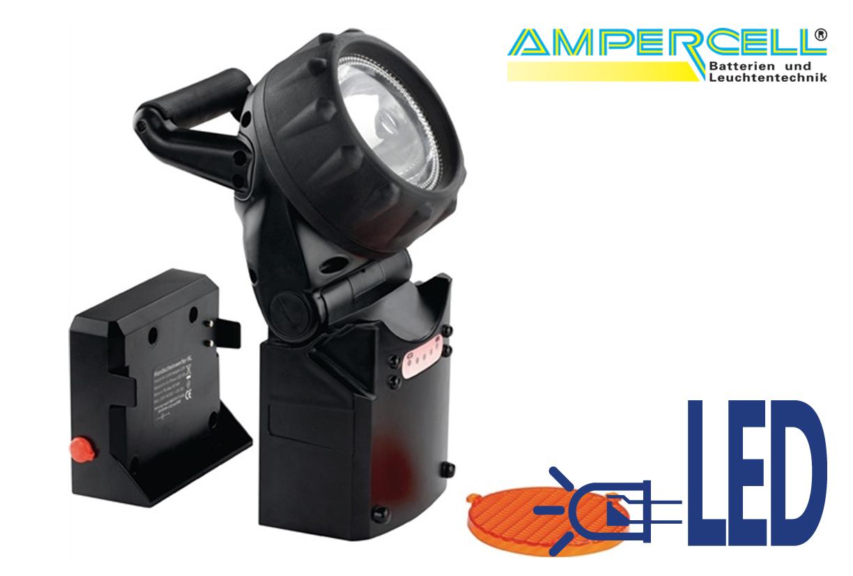 Zaklamp Veiligheidslicht Halogeen + LED | DKMTools - DKM Tools
