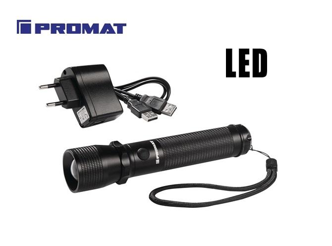 LED-zaklamp 350 lm Li-Ion   DKMTools - DKM Tools