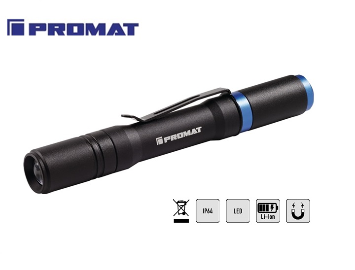 LED-zaklamp 110 LM oplaadbaar   DKMTools - DKM Tools