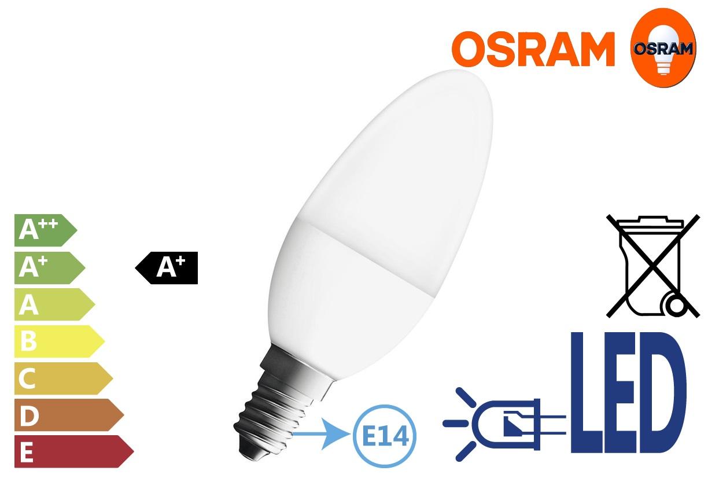 Osram LED Retrofit Filament P 5.5W 470Lm 230V | DKMTools - DKM Tools