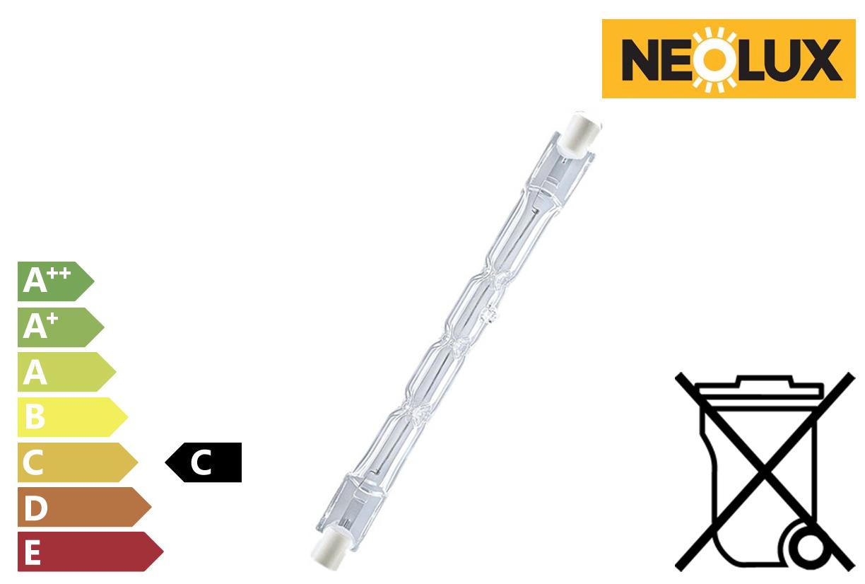 Halogeenbuis 120W 2200Lm 230V dimbaar | DKMTools - DKM Tools