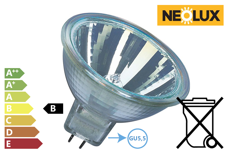 Koude licht spiegel lamp 20W 210Lm 12V dimbaar | DKMTools - DKM Tools