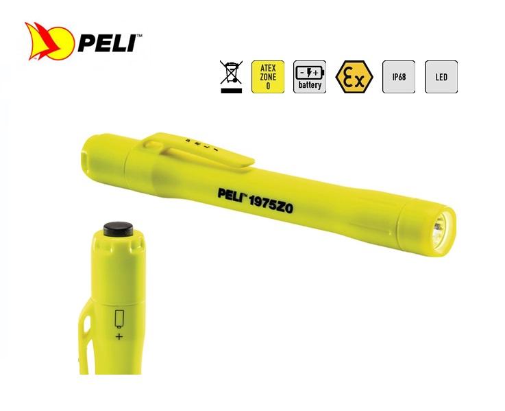 Peli 1975Z0 LED Zone 0 Penlamp Geel   DKMTools - DKM Tools