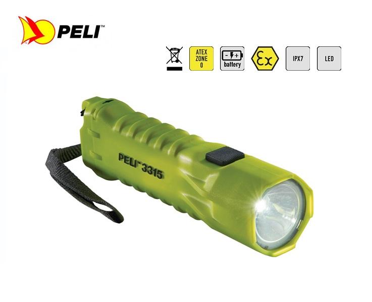 Peli 3315Z0 LED Zone 0 Penlamp Geel   DKMTools - DKM Tools