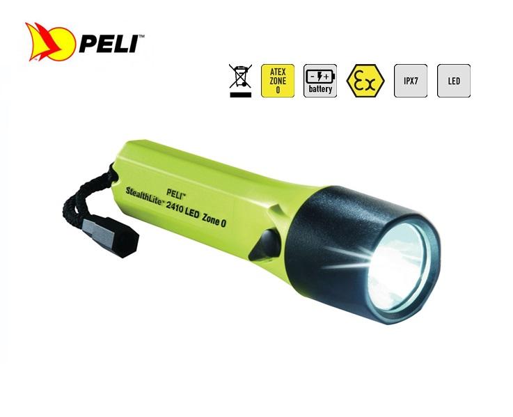 Peli 2410Z0 StealthLite LED Zone 0 Zaklamp geel   DKMTools - DKM Tools